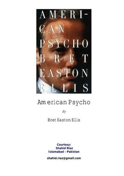 american pyscho essay