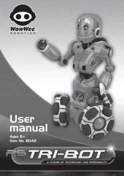 WOWWEE ROBOSAPIEN USER MANUAL Pdf Download.