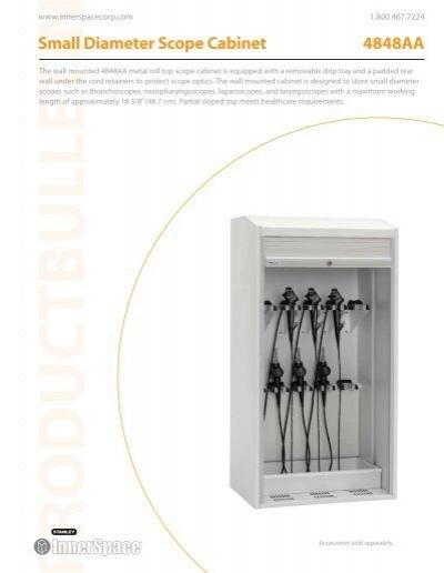 Small Diameter Scope Cabinet 4848aa Stanley Innerspace