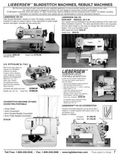 liebersew sewing machine
