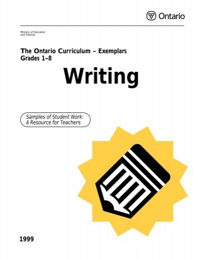 writing exemplar These are just some examples of questions to ask yourself as you write your  exemplar be sure to include others in the writing process so that you have the.