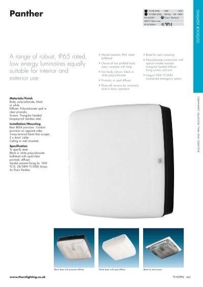 4 x 16w Low Energy Bulkhead IP65 Vandal Resistant with bulb Black