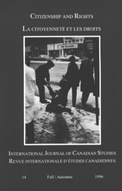 International Journal Of Canadian Studies Revue Internationale D