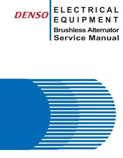 ba service manual denso rh yumpu com Denso Alternator Parts Denso Alternator Diagram