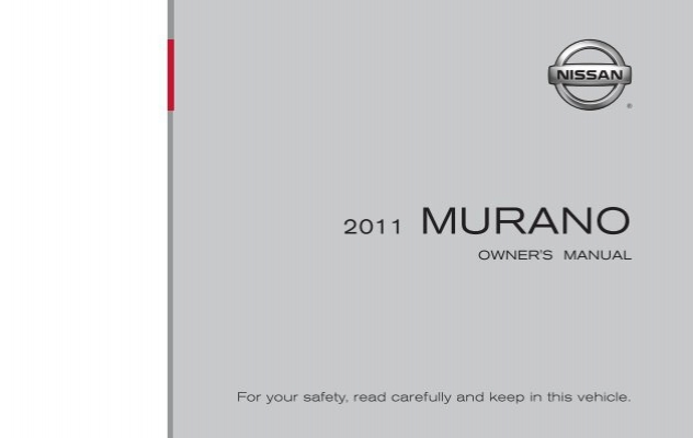Nissan Murano Owners Manual 2013 on Chevy Maintenance Schedule