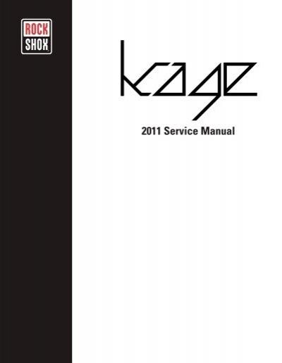 rockshox reba sl service manual