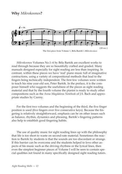 mikrokosmos volume 1-4 pdf