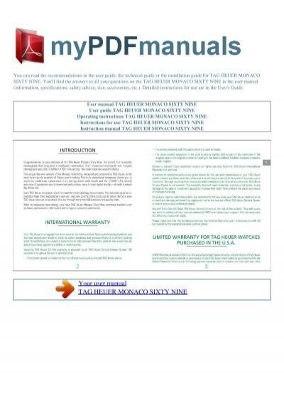 Tag heuer grand carrera calibre 36 instruction manual pdf.