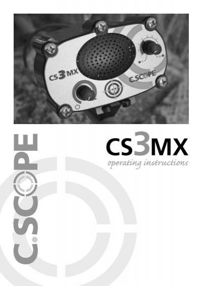CAMO NEOPRENE C-SCOPE CS3 MX //4PI METAL DETECTOR-SET OF 3 COVERS