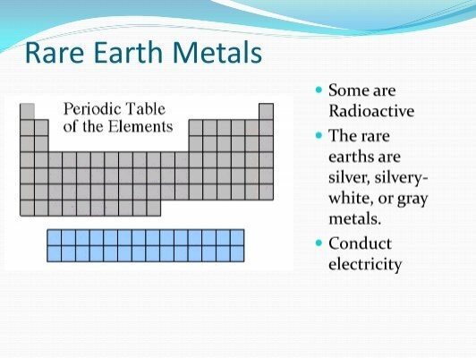 Rare earth metals some a urtaz