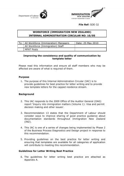 Letter Of Recommendation For Immigration from www.yumpu.com