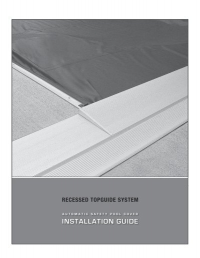 Automatic Safety Pool Cover Installation Guide Coverstar
