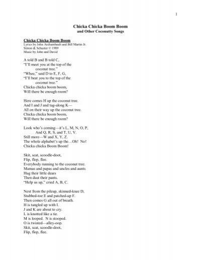 Chicka Chicka Boom Boom1 - Creative Teaching Press