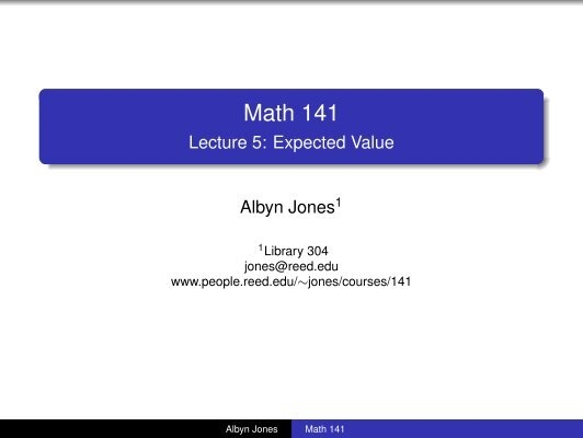 Worksheet on Expected Value – Expected Value Worksheet