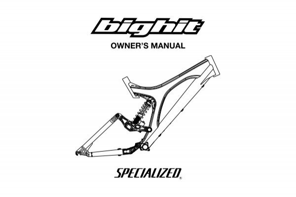 04 Big Hit Tech Manual - Specialized Bicycles