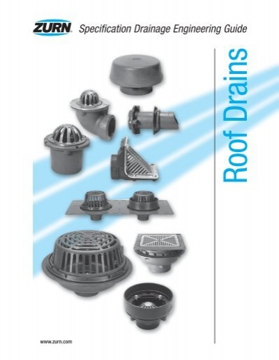 Zurn Roof Drain Guide 12 300 About Roof
