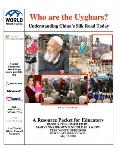 photo essay who are the uighurs