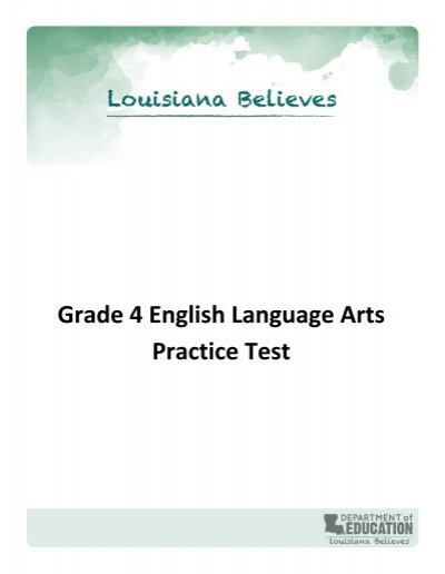leap grade 4 english language arts practice test. Black Bedroom Furniture Sets. Home Design Ideas