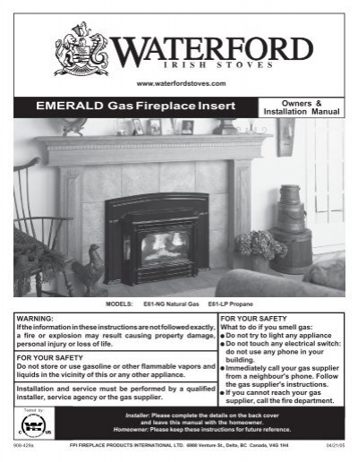 Waterford Gas Fireplace I