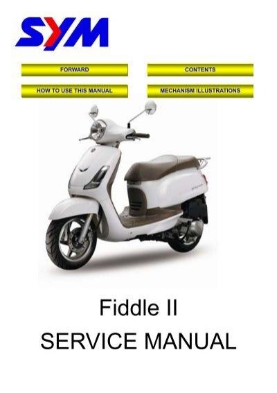 fiddle ii service manual norsk motor import rh yumpu com