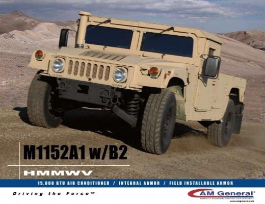 M1151a1 hmmwv Technical manual 24p Hose on