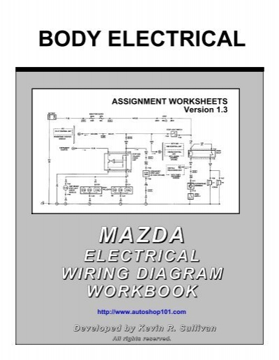 mazda body electrical workbook autoshop 101 rh yumpu com