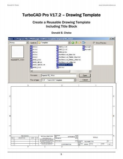 turbocad drawing template - turbocad drawing template gallery template design ideas