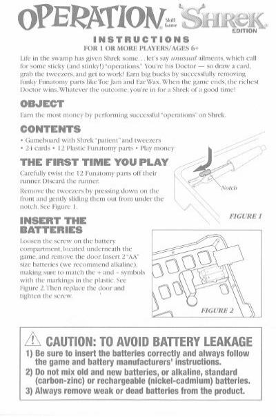 disney trivial pursuit instructions