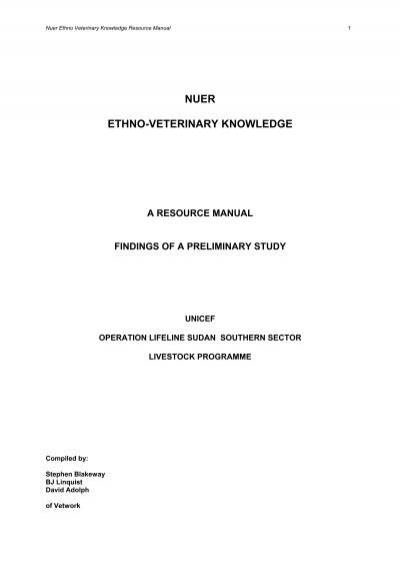 the nuer cognition essay
