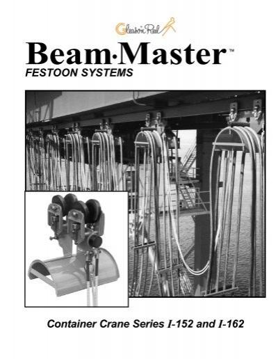 Gleason Cable Track : Festoon systems container crane series i gleason