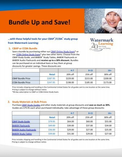 Bundle Up and Save! - Watermark Learning