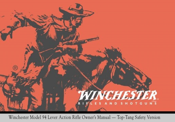 winchester model 94 lever action rifle owner s manual top rh yumpu com winchester model 94 pre 64 owners manual winchester 94 owners manual