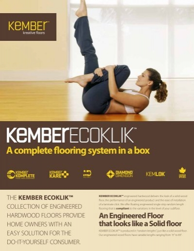 A Complete Flooring System In Box, Kember Laminate Flooring