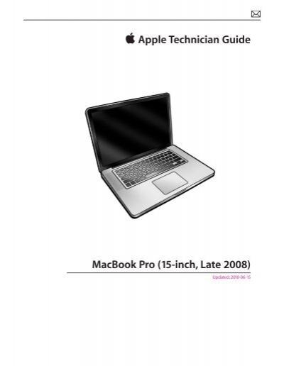 apple technician guide macbook pro 15 inch late tim id au rh yumpu com apple technician guide mac pro 2009 apple technician guide mac pro