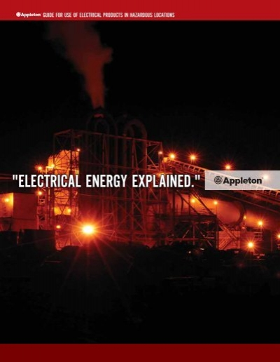 appleton guide for use of electrical products in emerson
