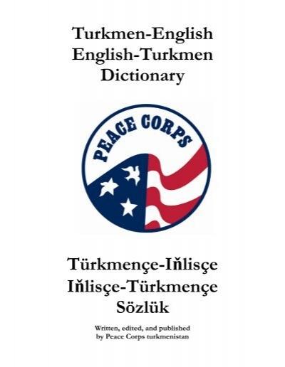 Turkmen-English English-Turkmen Dictionary ... - Photo Gallery