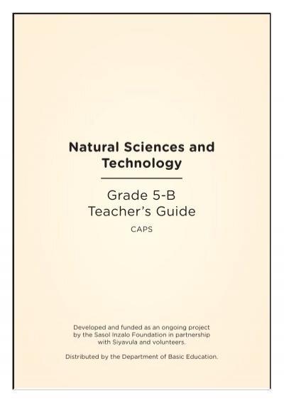natural sciences and technology grade 6 b thunderbolt kids rh yumpu com