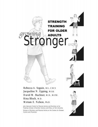 Growing Stronger: Strength Training for Older Adults