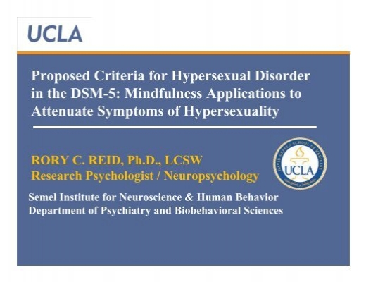 Hypersexual disorder a proposed diagnosis for dsm-v