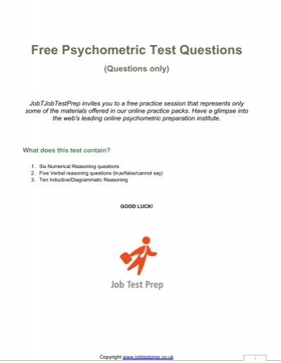 psychometric test It can be difficult to assess personality, attitude, and values find out how psychometric testing can help you measure these hidden attributes.