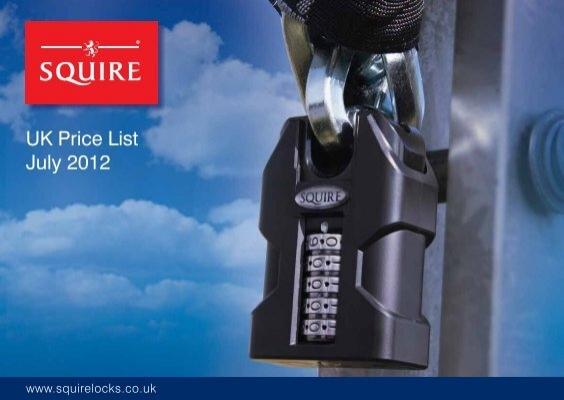 Mako 8mm x 900mm Key Operated Chain Bike Lock Squire MAKO CN8//900