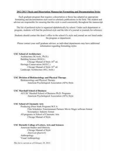 Dissertation manuscript