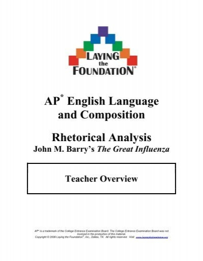 ap06 english lang student samples college board rhetorical analysis example essay - Example Of A Rhetorical Essay