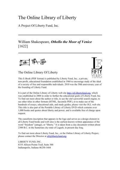 othello moor of venice pdf download - photo#19