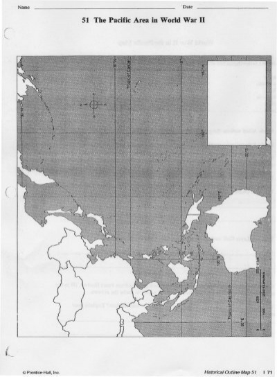 51 The Pacific Area In World War II