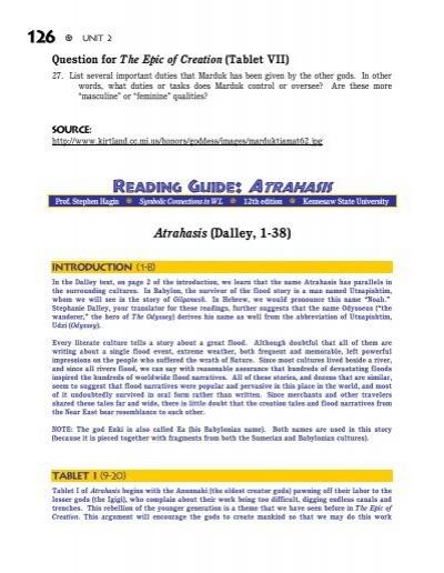 atrahasis epic full text pdf