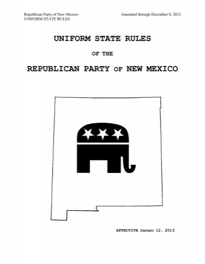 new mexico rules