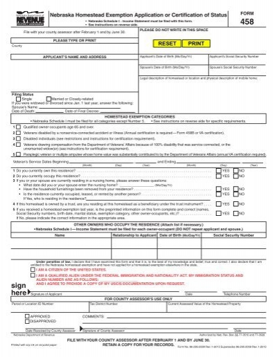 Homestead Exemption Forms In Michigan - Image Mag