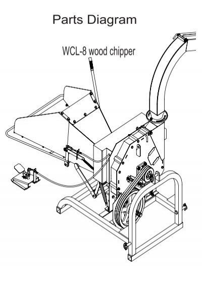 wood chipper engine diagram trusted schematics wiring diagrams u2022 rh bestbooksrichtreasures com