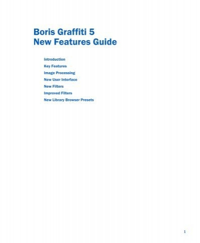 download pdf boris graffiti 5 new features guide cachefly rh yumpu com boris fx user guide Clip Art User Guide